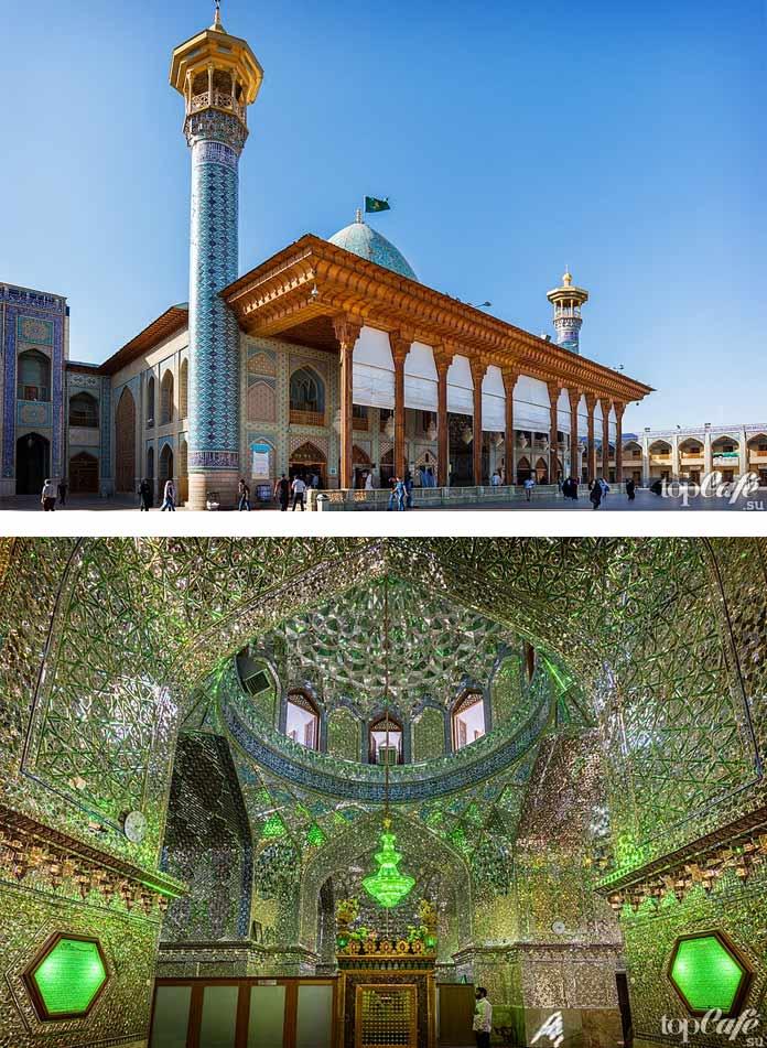Мозаичные работы мавзолея Шах Черах-Шираз. СС0