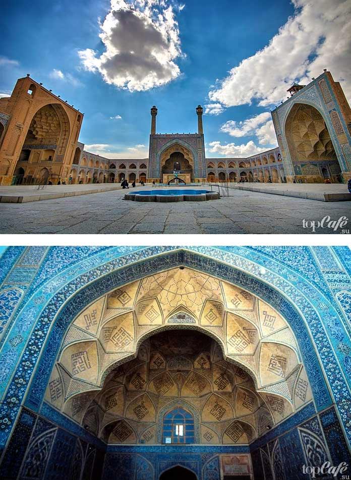 Мечеть Джамех-Исфахан. СС0