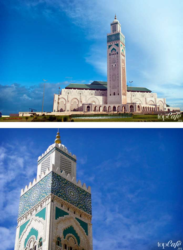 Мечеть Хасана II-Касабланка - одна из самых знаменитых и красивых мозаичных работ. СС0