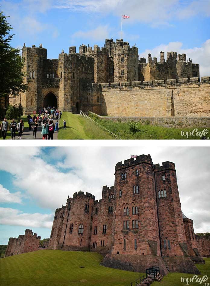 Популярные замки Англии: Алнвик. СС0