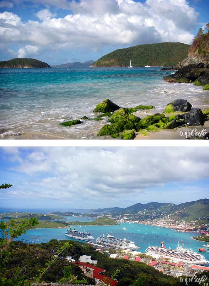 Американские Виргинские острова - одно из лучших мест для купания. СС0