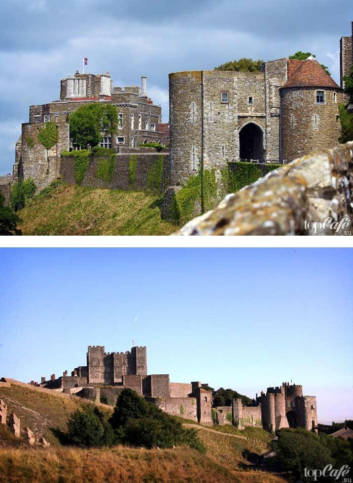 Дувр - один из популярных средневековых замков Англии. СС0