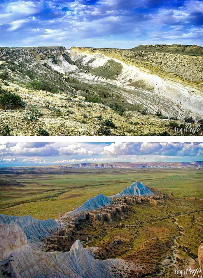 Живописные каньоны Казахстана: Капамсай