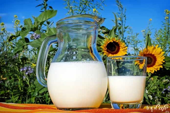 Сильно аллергенные продукты: Коровье молоко. СС0