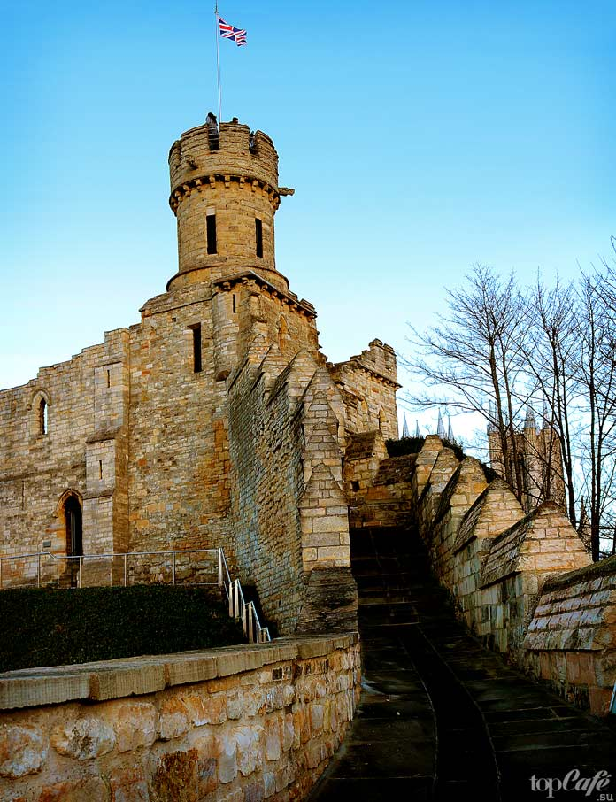 Красивые замки Англии: Линкольн. СС0
