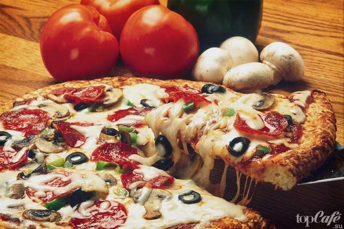 Пицца среди всех блюд с сыром является самым популярным. CC0