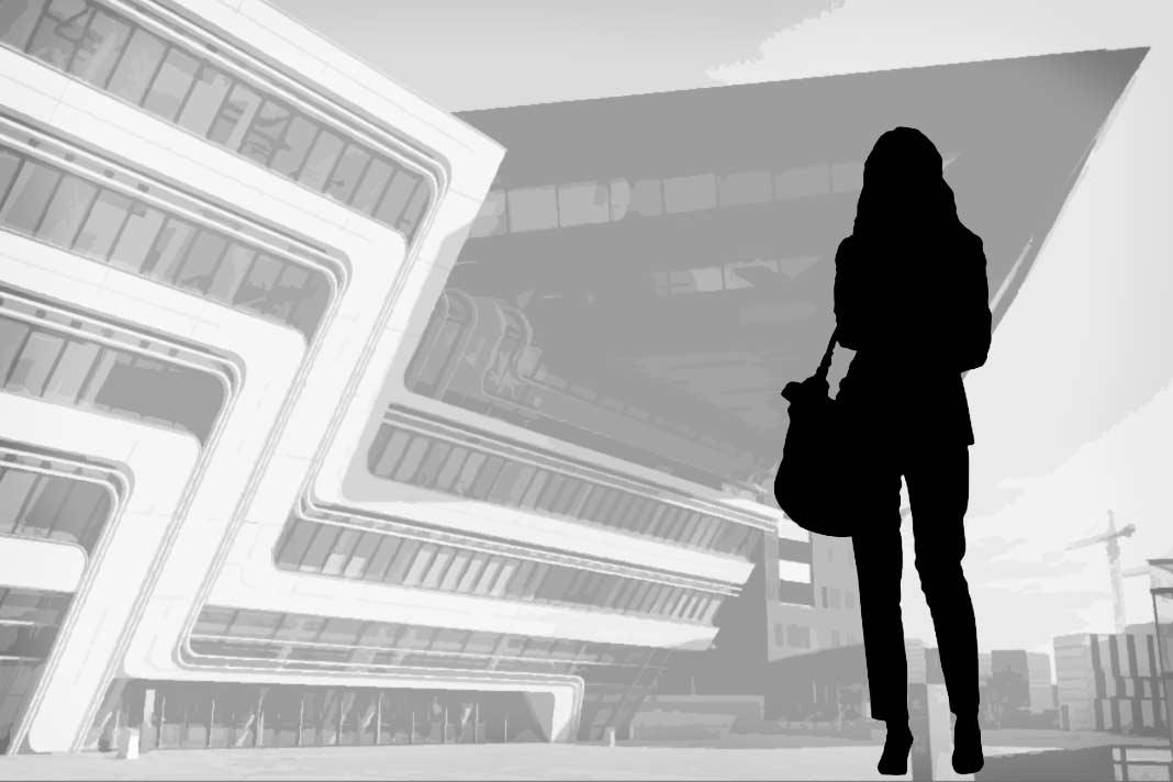 Женщина архитектор