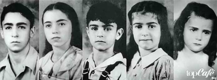 Дети семейства Соддеров
