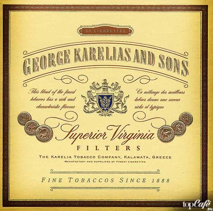 Самые дорогие сигареты в мире: George Karelias and Sons