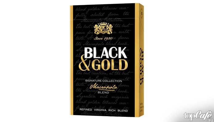 Самые дорогие сигареты в мире: Black and Gold