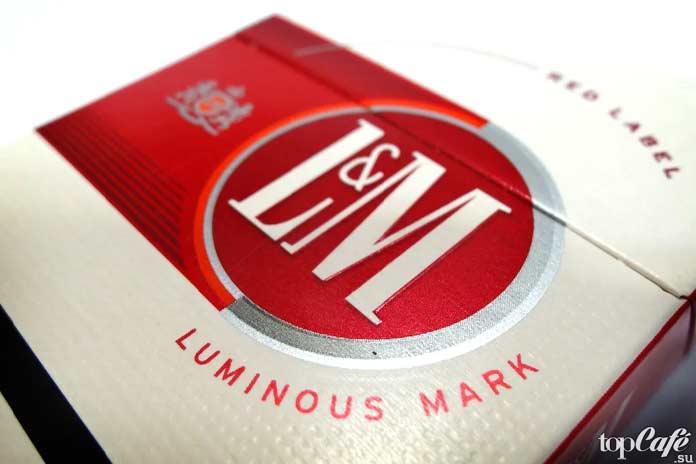 Самые крепкие сигареты: L&M
