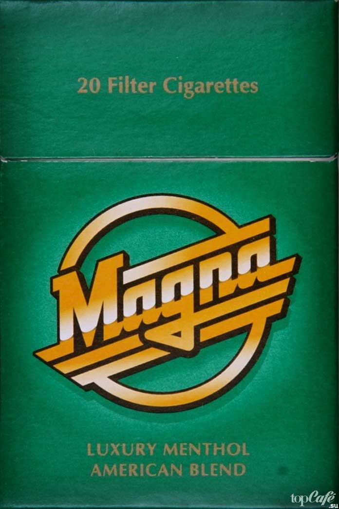 Самые крепкие сигареты: Magna Mentol