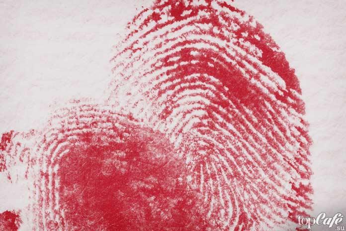 Кровавые отпечатки. CC0