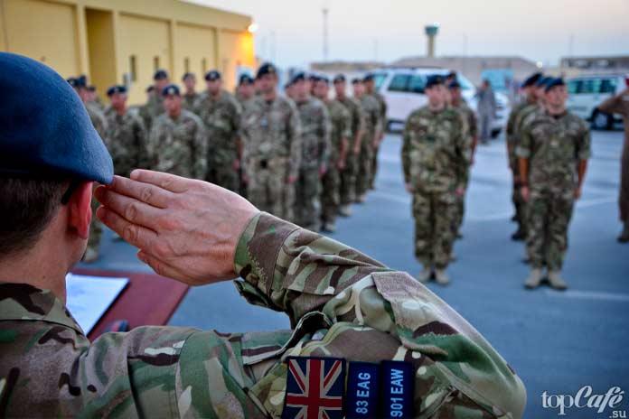 Самые сильные армии: Армия Британии. CC0