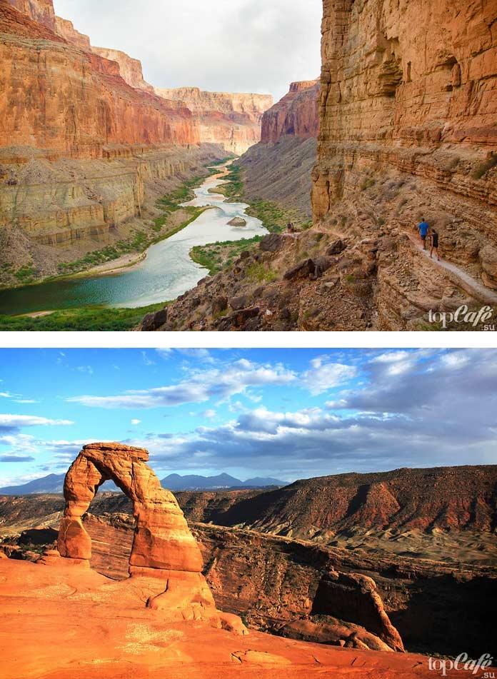 Список мест для путешествий по США: Каньоны Аризоны. CC0