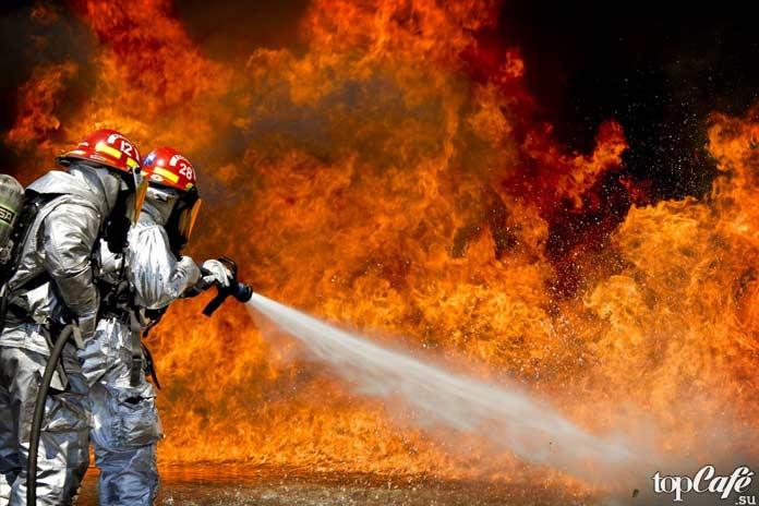 Самые опасные профессии: Пожарный. СС0