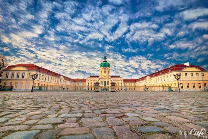красивые замки Германии: Дворец Шарлоттенбург. CC0