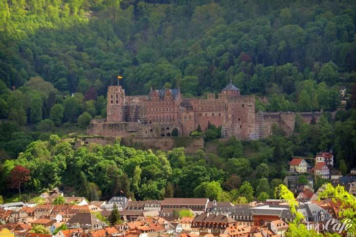 красивые замки Германии: Heidelberg Castle. CC0