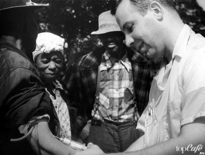 Исследования сифилиса в Таскиги. CC0