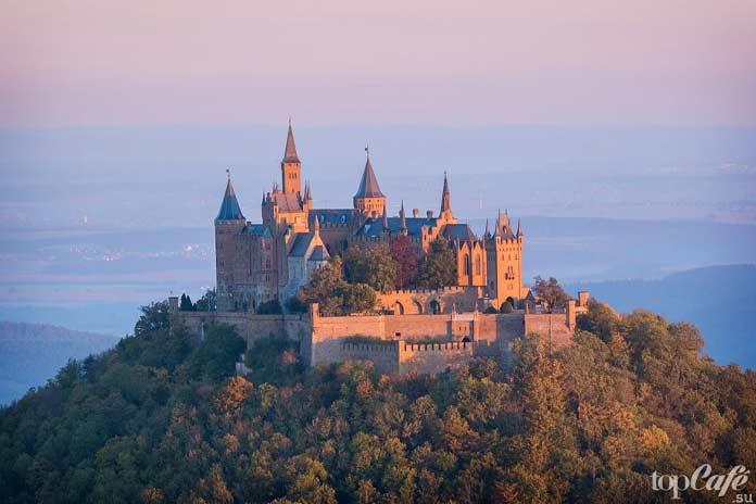 красивые замки Германии: Замок Гогенцоллернов. CC0