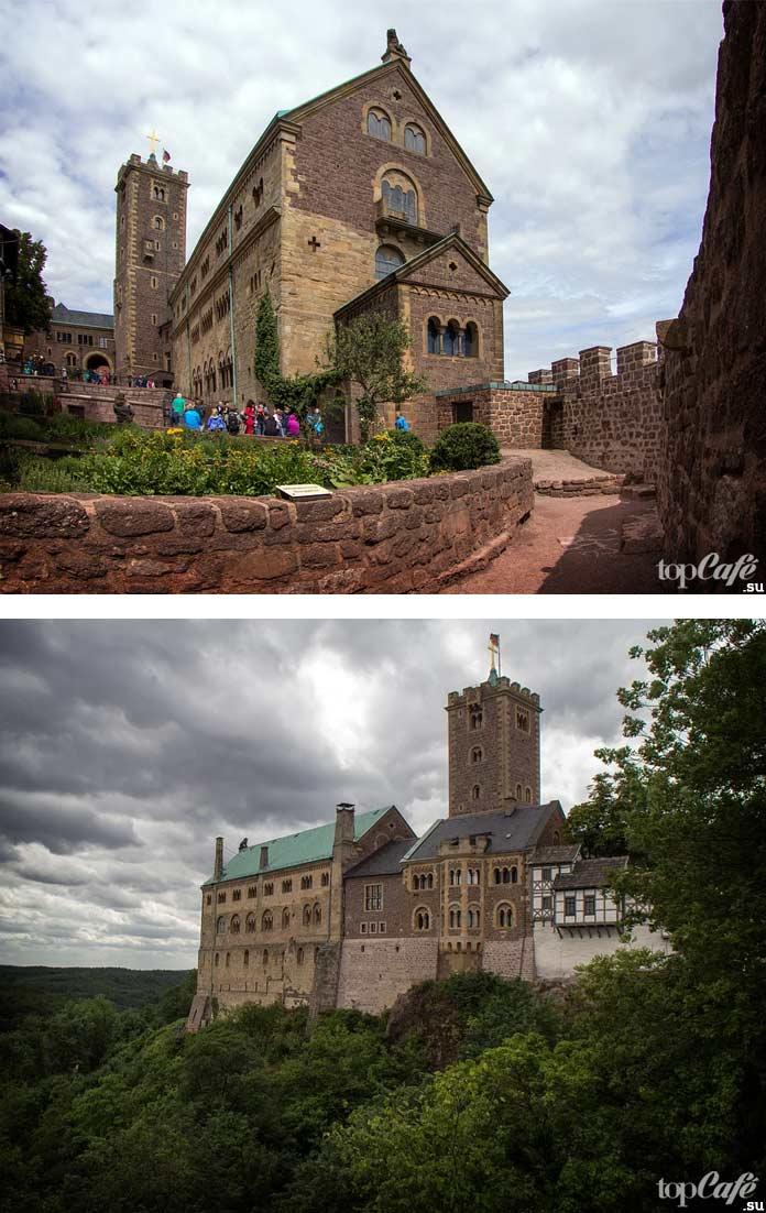Замок Вартбург. CC0