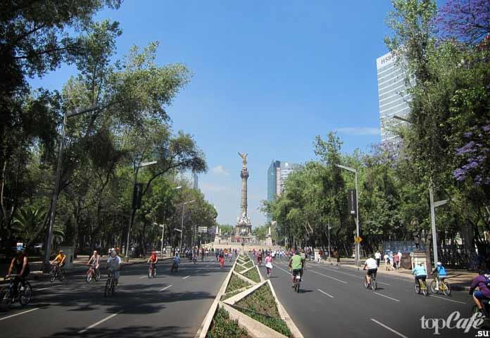 В Мехико планируют отказаться от автомобилей. CC0