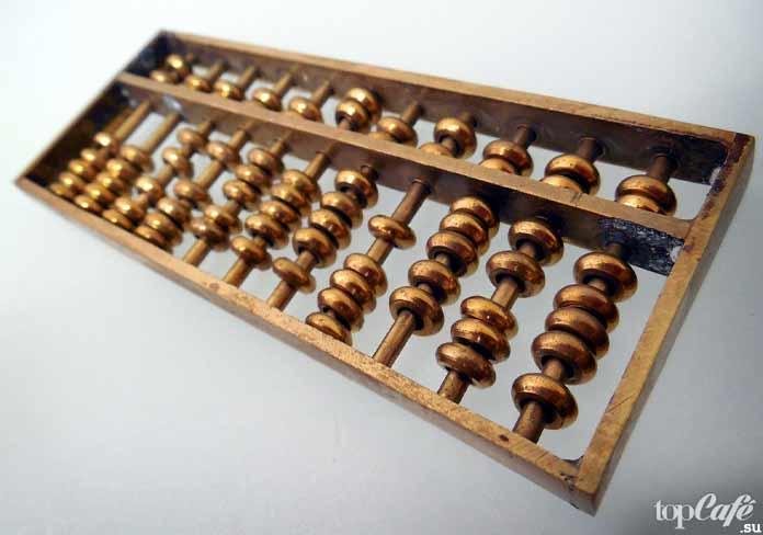 6 типов калькуляторов: Абакус. CC0