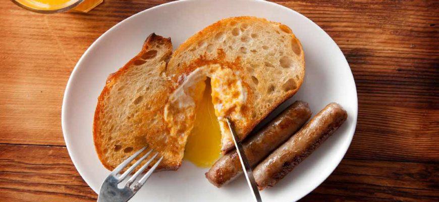 ТОП-5 рецептов завтраков, которые готовятся за 5 минут