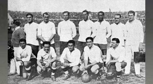 сборная Уругвая 1930 г